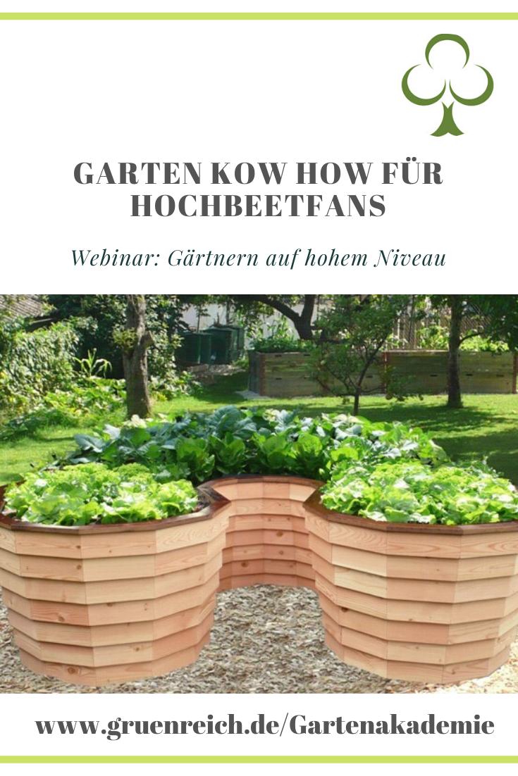 Webinar Gärtnern auf hohem Niveau #gemüsepflanzen