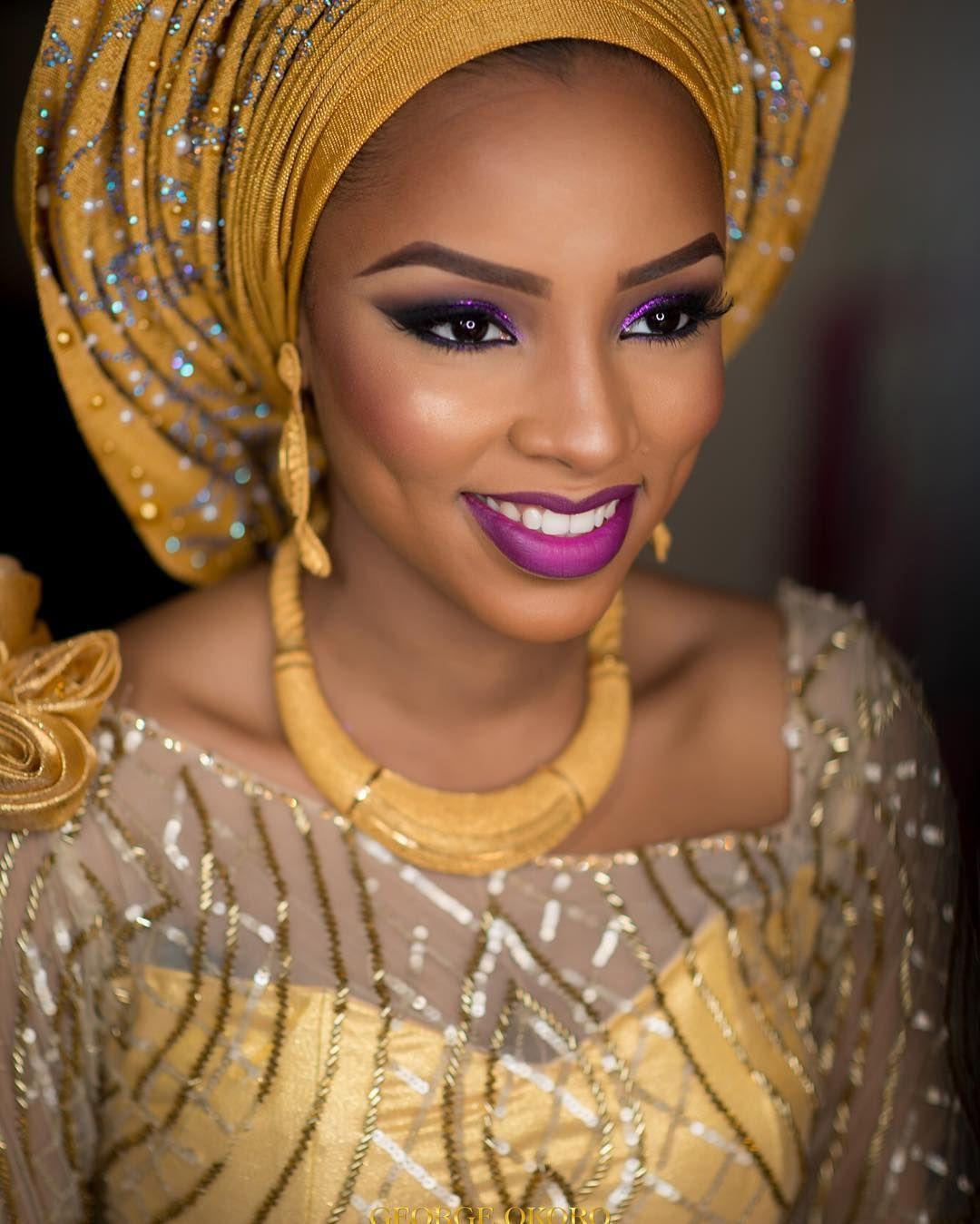 Traditional nigerian wedding dresses  See this Instagram photo by bellanaijaweddings u k likes