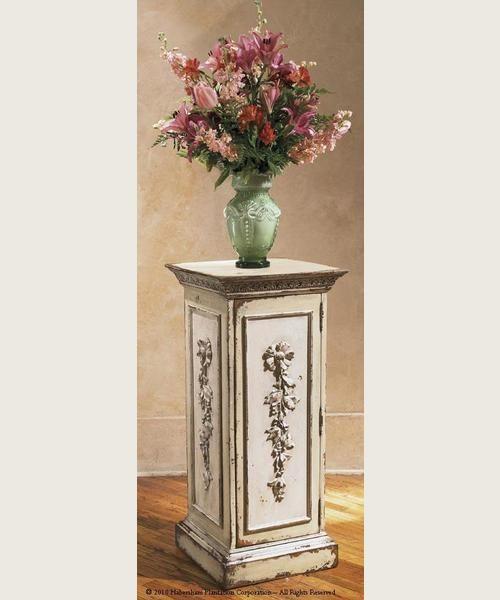 Biltmore Pedestal with Storage ~ Habersham Home