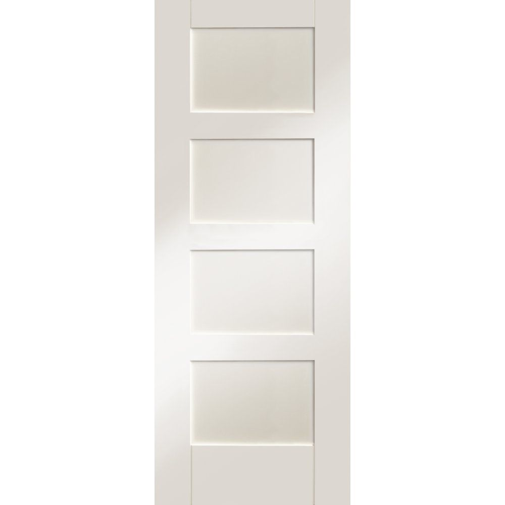 Xl joinery internal white primed shaker 4 panel door home makeover search through our great set of shaker white primed panelled internal doors from xl joinery at leader doors planetlyrics Gallery