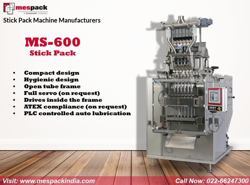 Mespack is the leading stick pack machine manufacturers in India ...