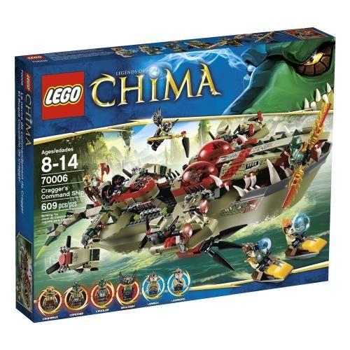 LEGO Chima Cragger Command Ship 70006 | Lego | Pinterest | Lego ...