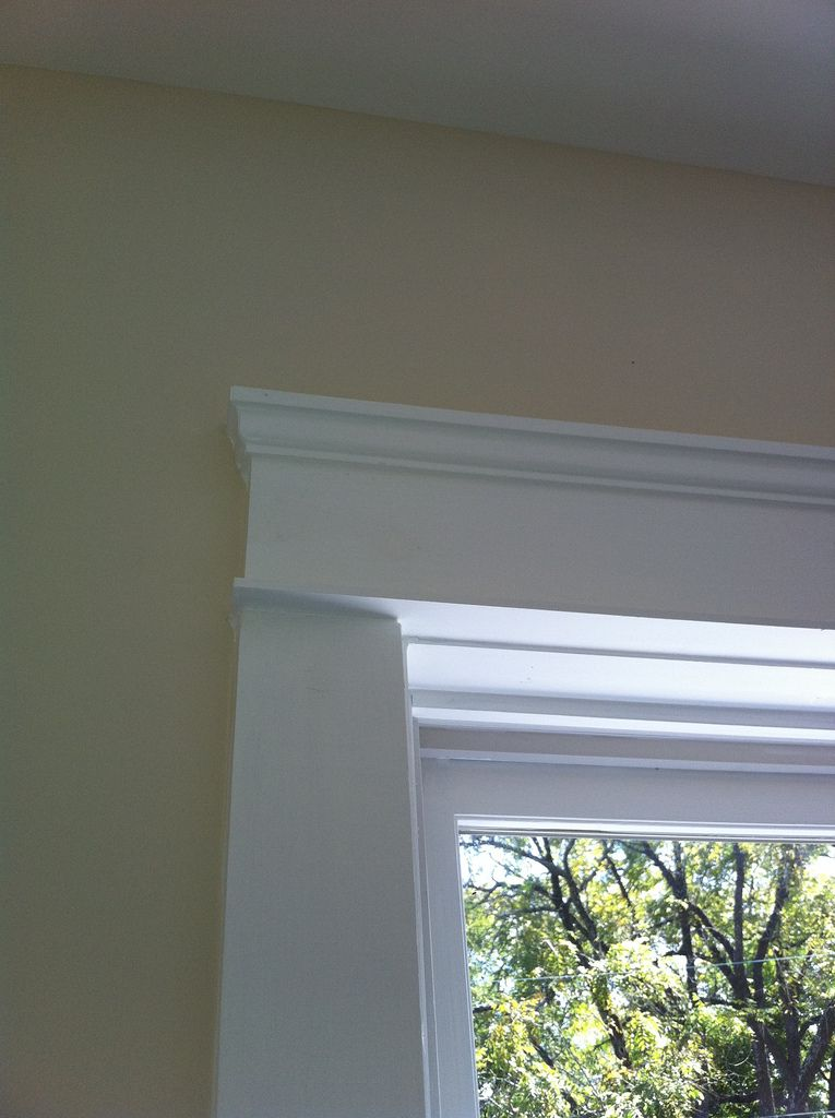 Best of All windows and doors are trimmed in 1920 s vintage style with square cut frames parting bead and crown molding For Your House - Minimalist square crown molding For Your House