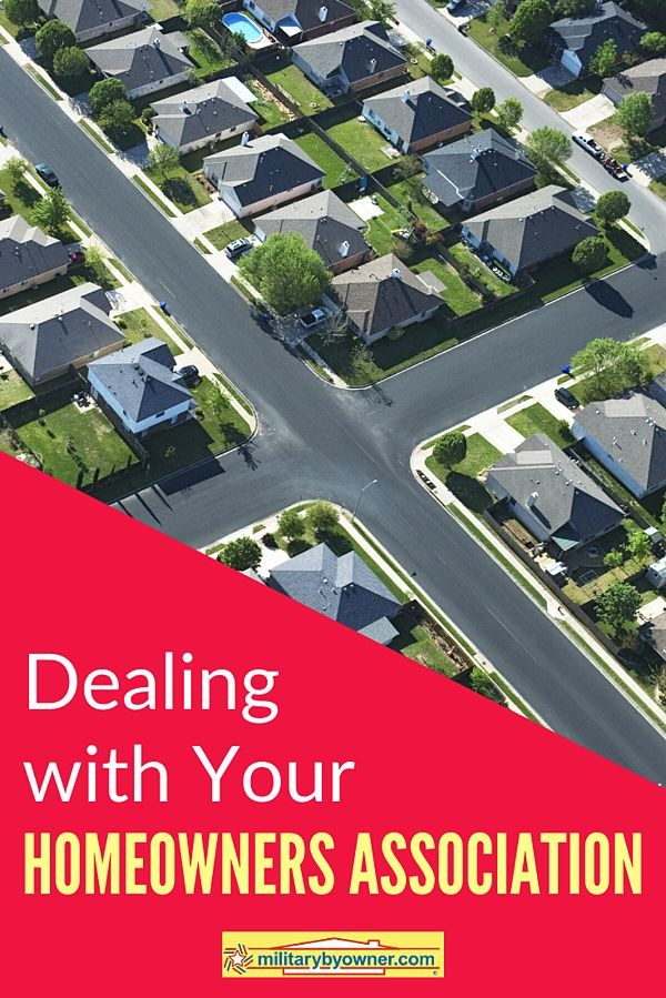 Tips for Dealing with Your Homeowners Association #homeowner #HOA #homebuying