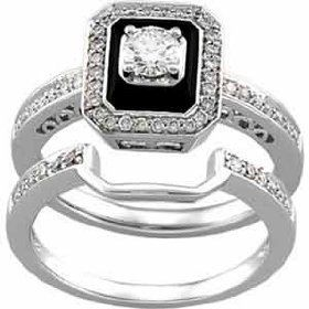 Antique Diamond Wedding Bands Women band can be set with black