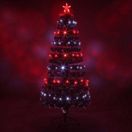 LED Fiber Optic Christmas Tree Color Changing Artificial Chrismas
