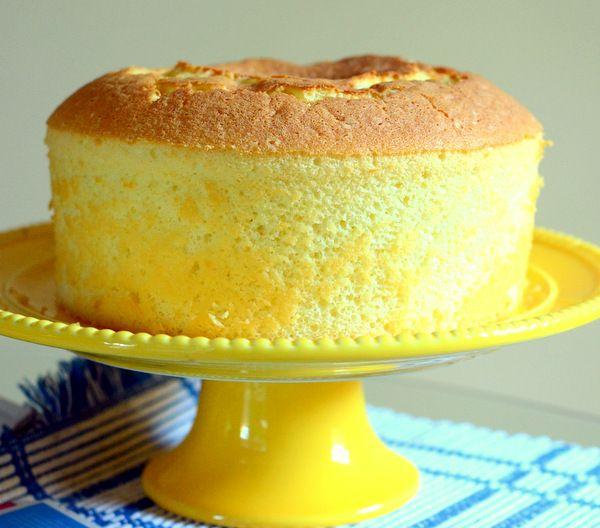 Freezing Chiffon Cake