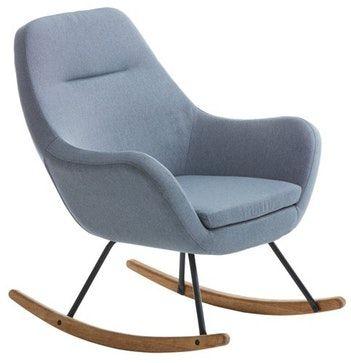 schommelstoel design stoel  Woonkamer  Pinterest