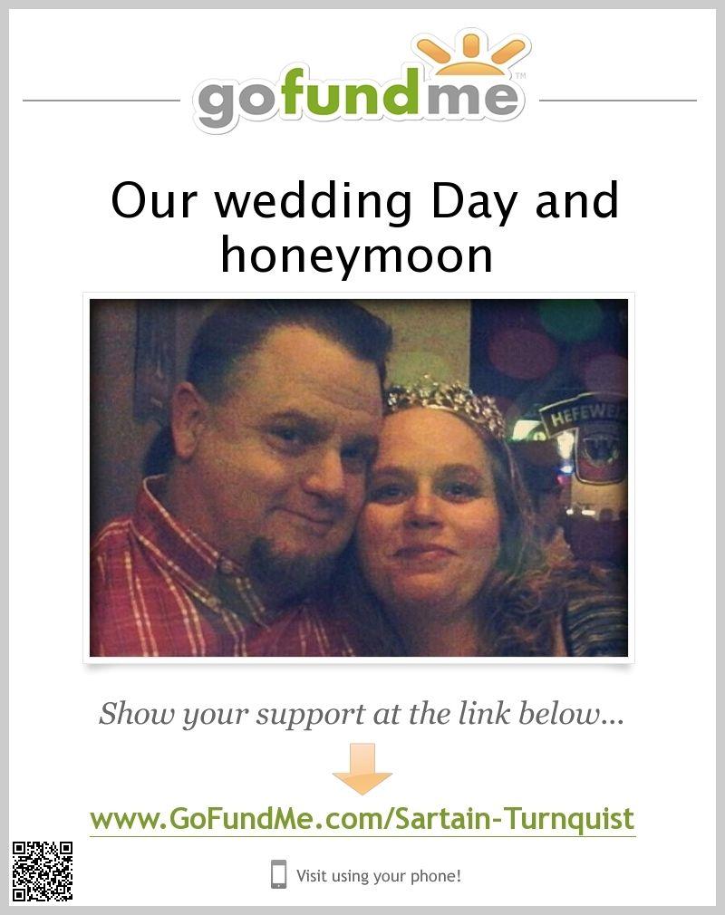 Sign In Gofundme Wedding Fund Our Wedding Our Wedding Day