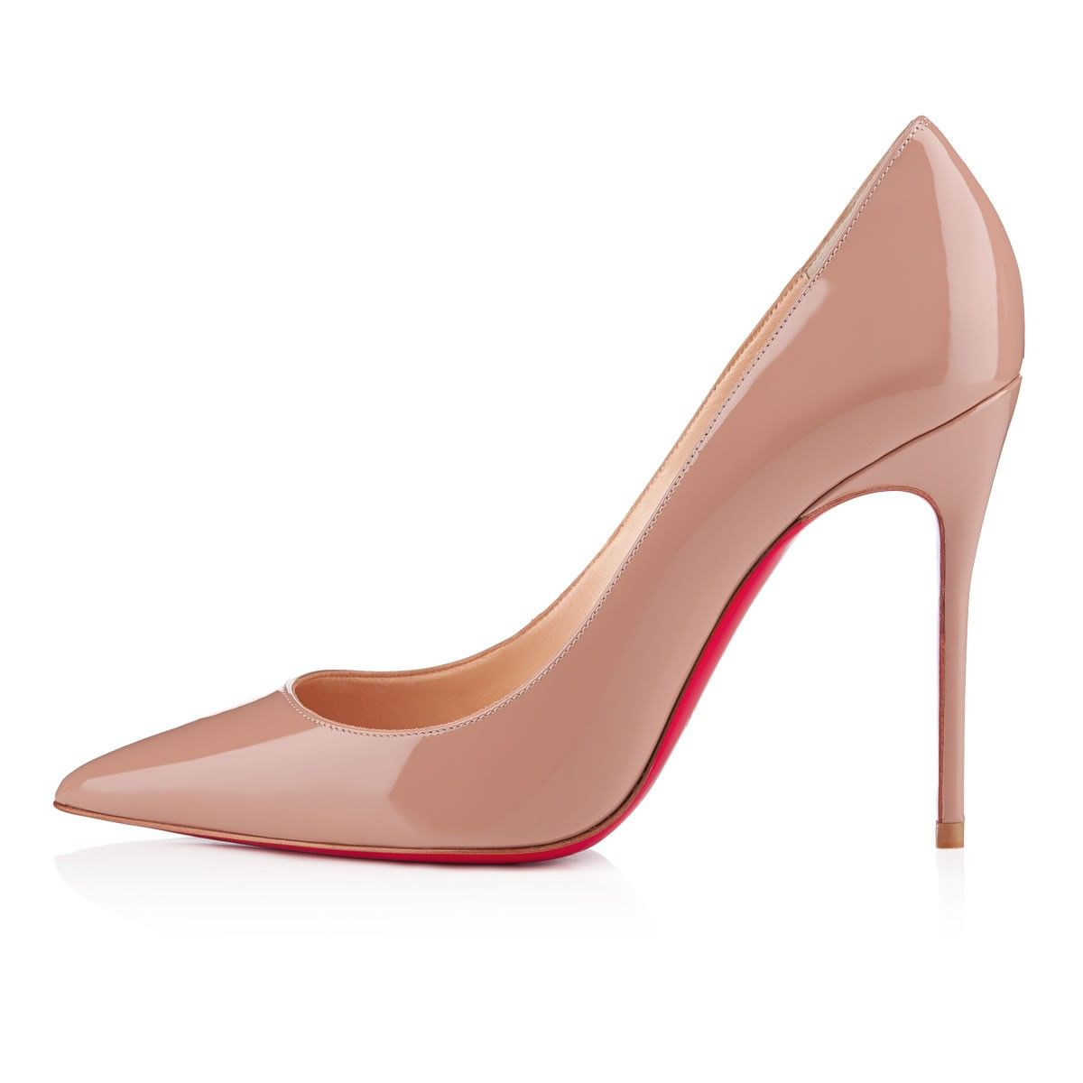 69059c0eae21 New Simple Pump 85 NUDE Patent Leather - Women Shoes - Christian Louboutin