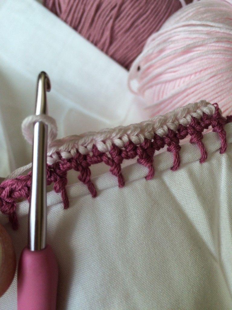 Crochet with Kate: pretty crochet edging on the LoveCrochet blog ...