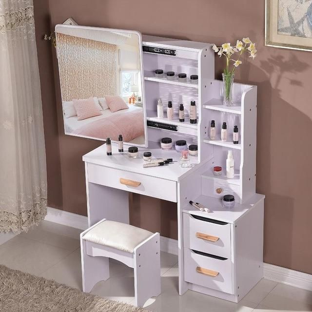 Dresser Bedroom Make Up Table Simple Modern Small Mini Size Vanity