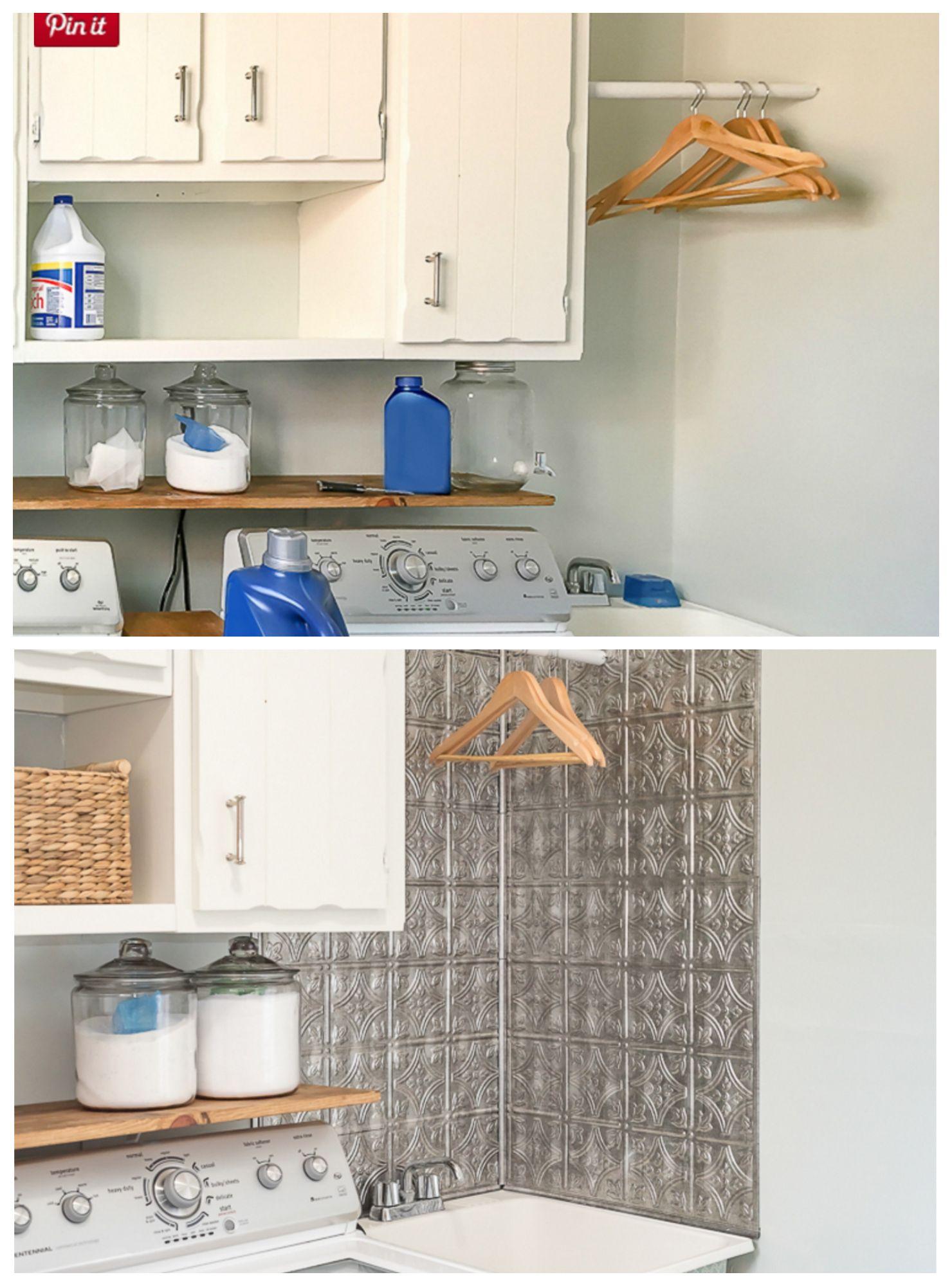 Hassle Free Laundry Room Backsplash Laundry Room Inspiration Laundry Room Decor Diy Kitchen Countertops