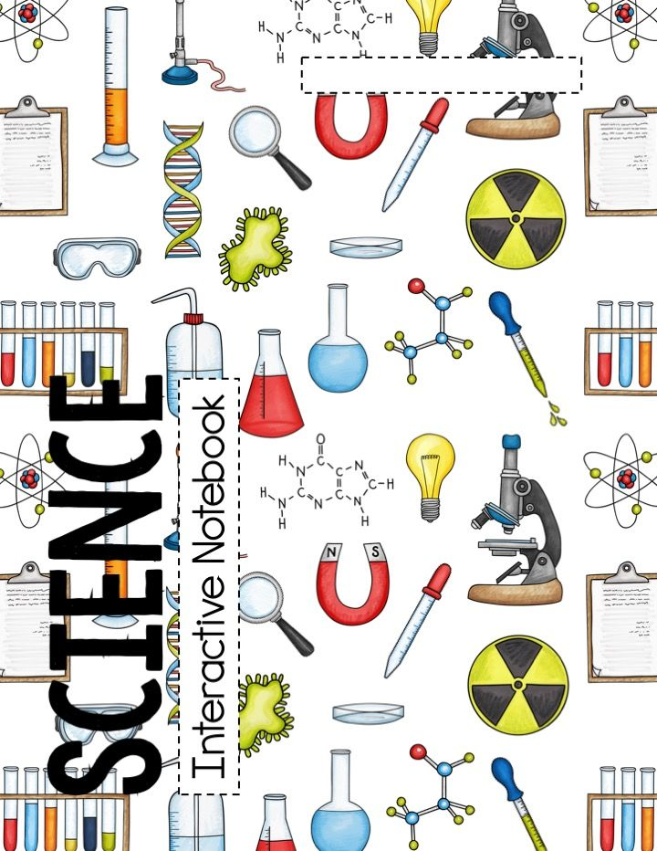 science interactive notebook cover  grading rubric  and table of contents
