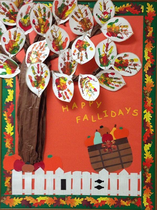 25 Fall Bulletin Boards and Door Decorations for Your Classroom #falldoordecorationsclassroom