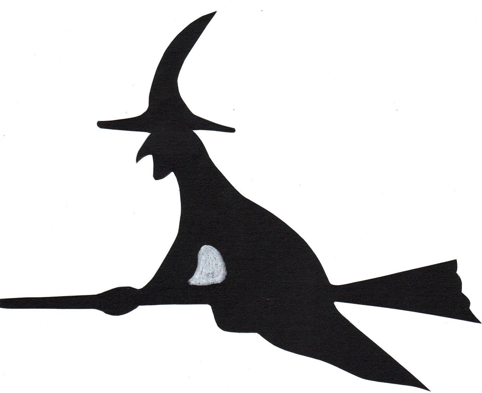 Witch Cut Out Templates Clipart