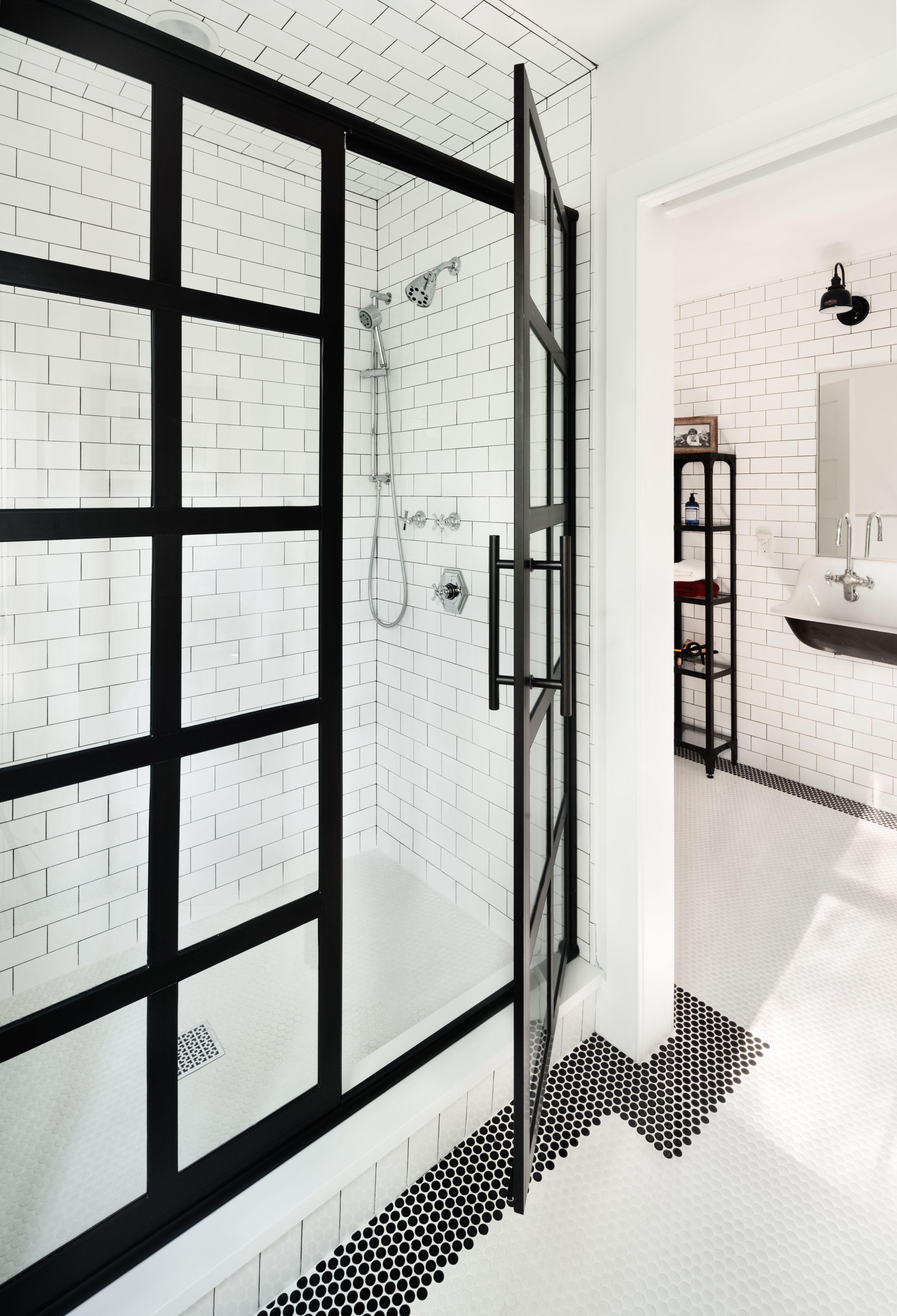 Oakwood Residence | Boys Jack & Jill Bathroom | Z+ Interiors ...