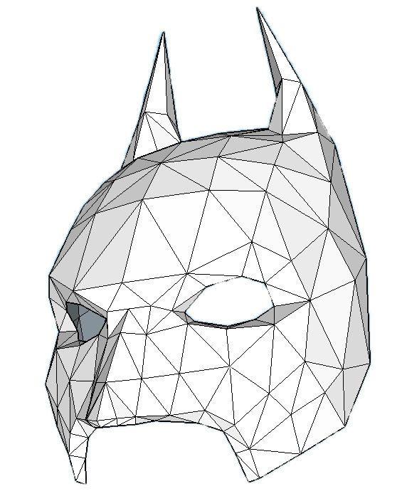 batman mask make your own with a pdf download batman costume