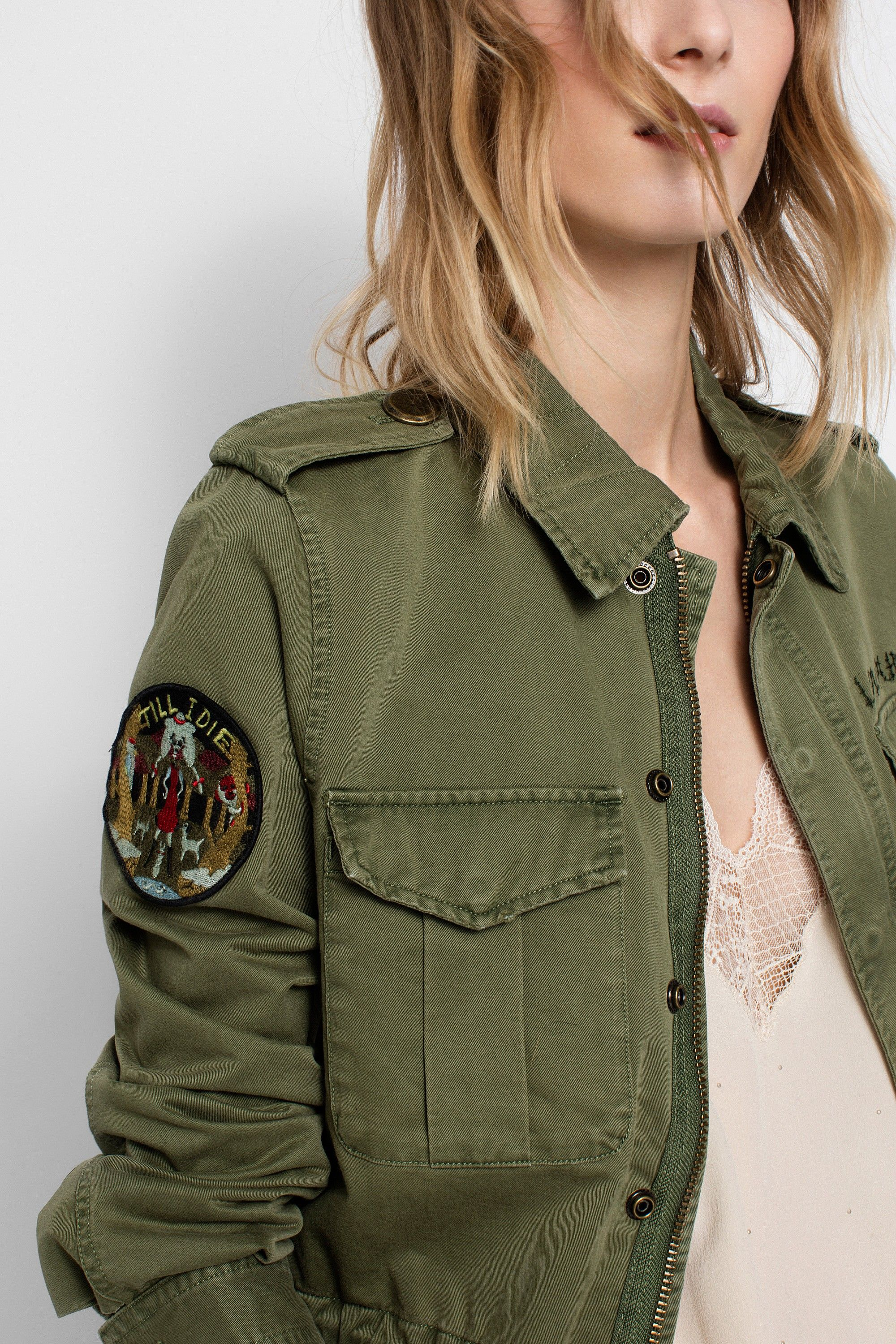 48d15499f9a5 Zadig  amp  Voltaire military jacket