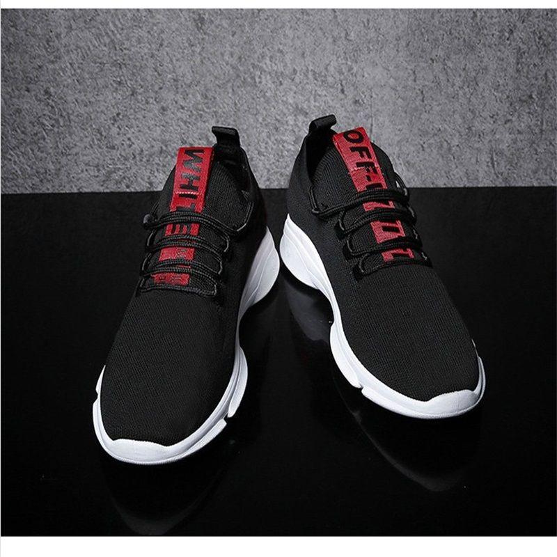 a8921c1aee72ec 18 Best-selling Men s Lightweight Casual Shoes Men s Shoes Men s Flat Shoes  Fashion Black Men s