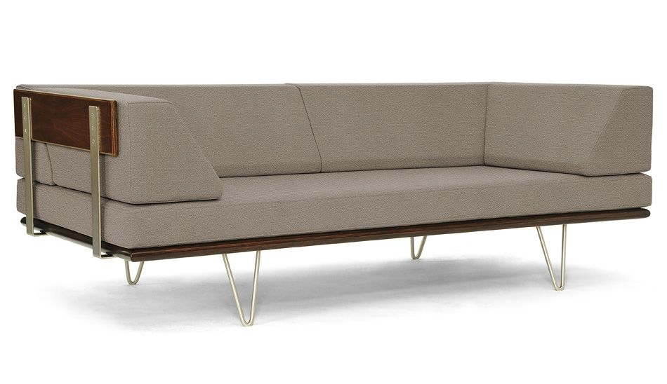 Modernica Case Study V Leg Daybed Couch Daybed Couch Couch Daybed