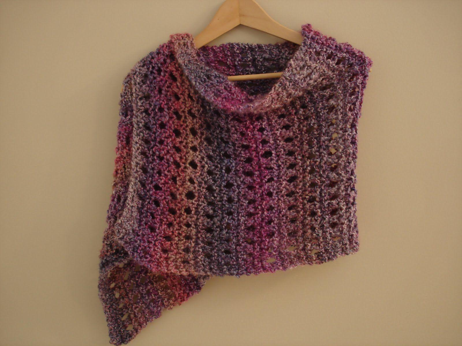 A Peaceful Shawl! (Free Knitting Pattern)   Knitting   Pinterest ...