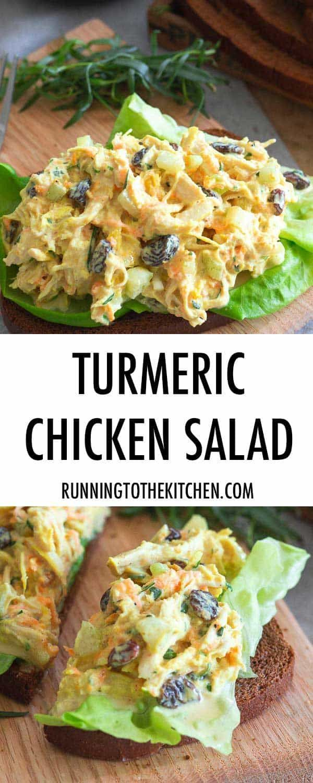Photo of Turmeric Chicken Salad – Creamy Turmeric Chicken Salad Recipe