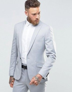 River Island light grey suit from Asos | Wardrobe | Pinterest ...