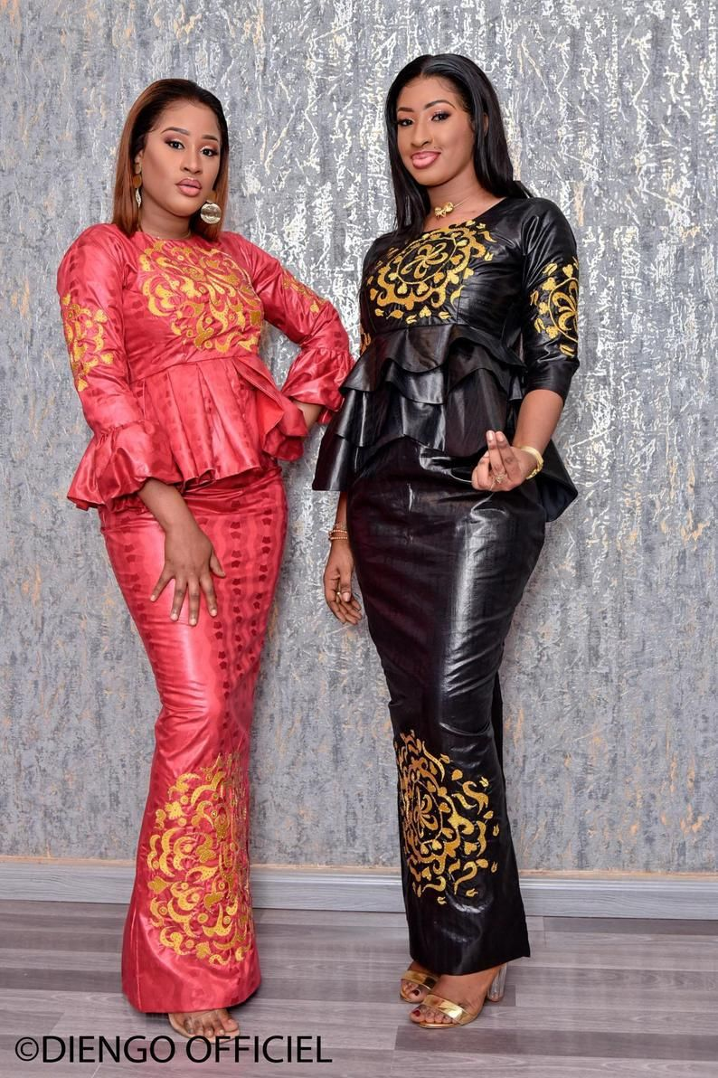 Mode africaine vêtements haut de gamme Getzner