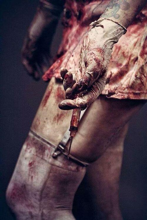Bloody Horror Art : Photo