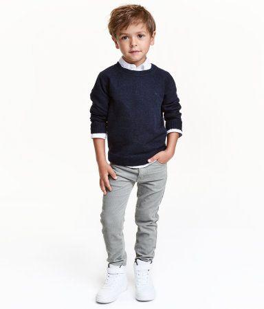 Corduroy Pants | Gray | Kids | H&M US