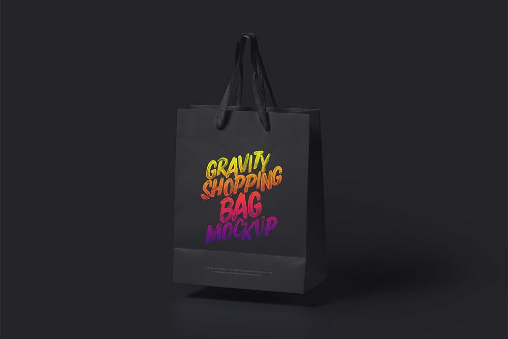 Download Paper Shopping Bag Psd Mockup Beautiful Look Blended With Useful Features Bag Mockup Bags Effective Branding