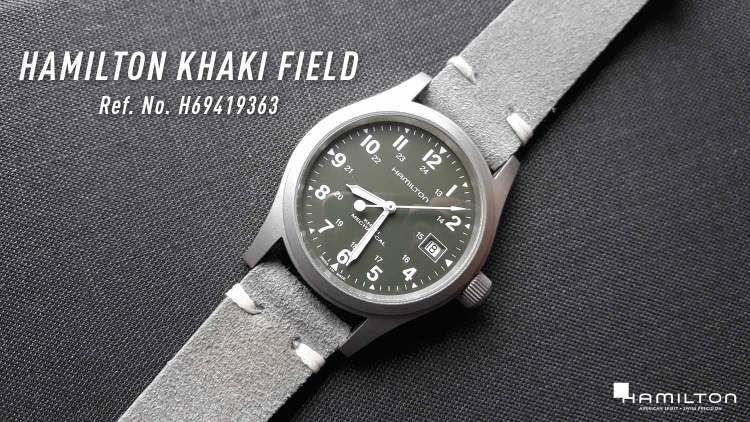 79598d863 Hamilton Khaki Field Reference Number H69419363: Who's going to remember  that number? Green or olive dial is a much easier reference.