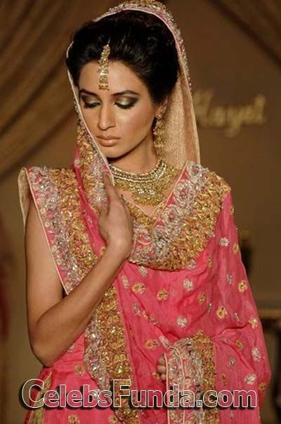 Iman Ali Pakistani Bridal Dresses
