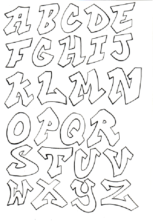 Image Detail For Lettering Styles A Z