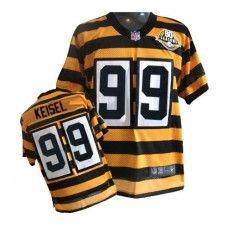 e04551597 NFL Mens Elite Nike Pittsburgh Steelers http    99 Brett Keisel Yellow  Alternate