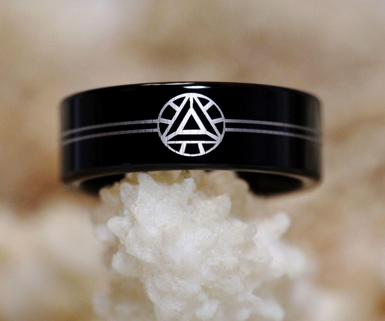 Iron Man Tungsten Ring 8mm Arc Reactor Symbol By Cloud9tungsten 40 00 Marvel Jewelry Tungsten Mens Rings Fandom Jewelry