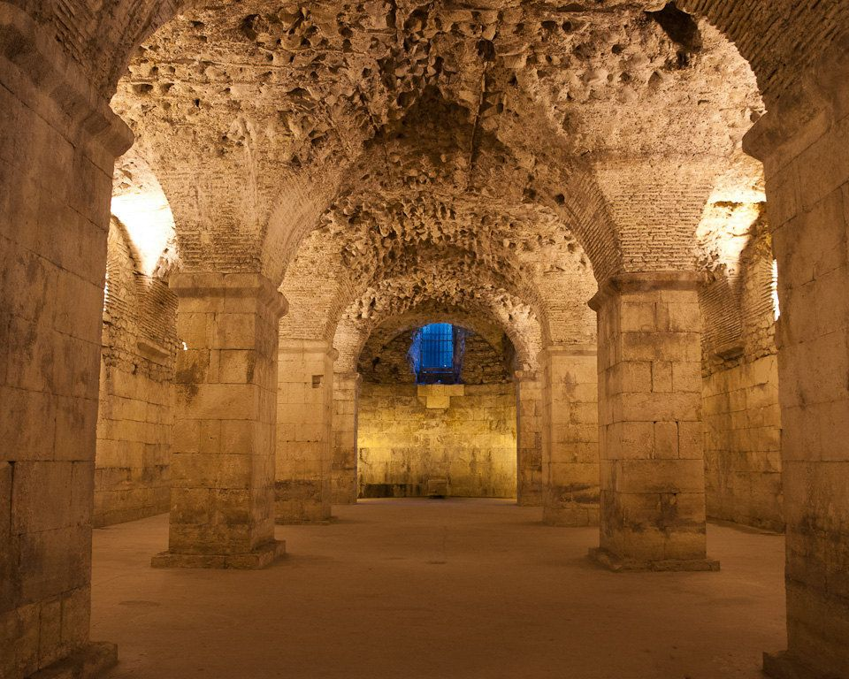 Roman Palace In Croatia