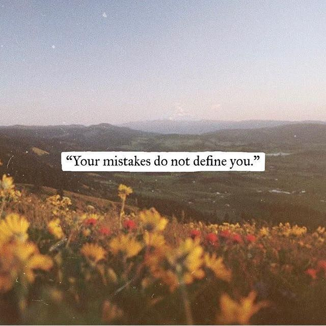 Inspirational Positive Quotes :Your mistakes do not define you….