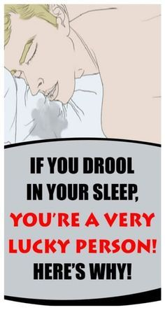 Do You Drool When You Sleep? Here's What It Means!