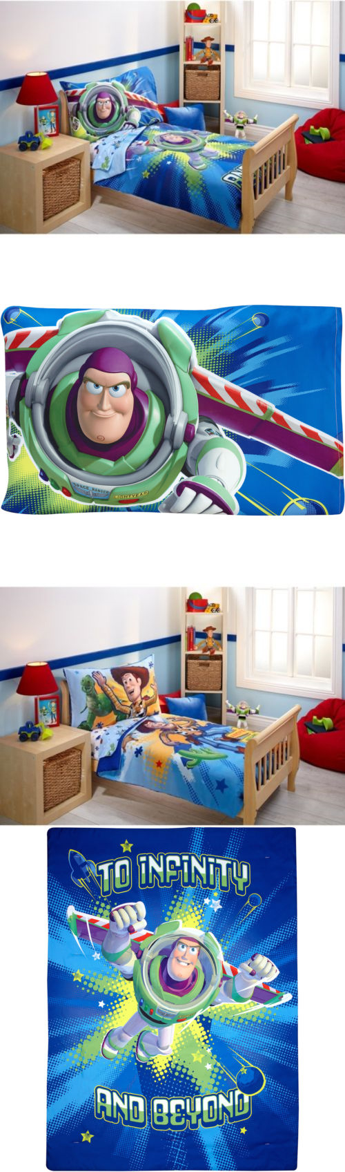 Toy story toddler bedding - Bedding Sets 66731 Toy Story Power Up 4 Piece Toddler Bedding Set Quilted