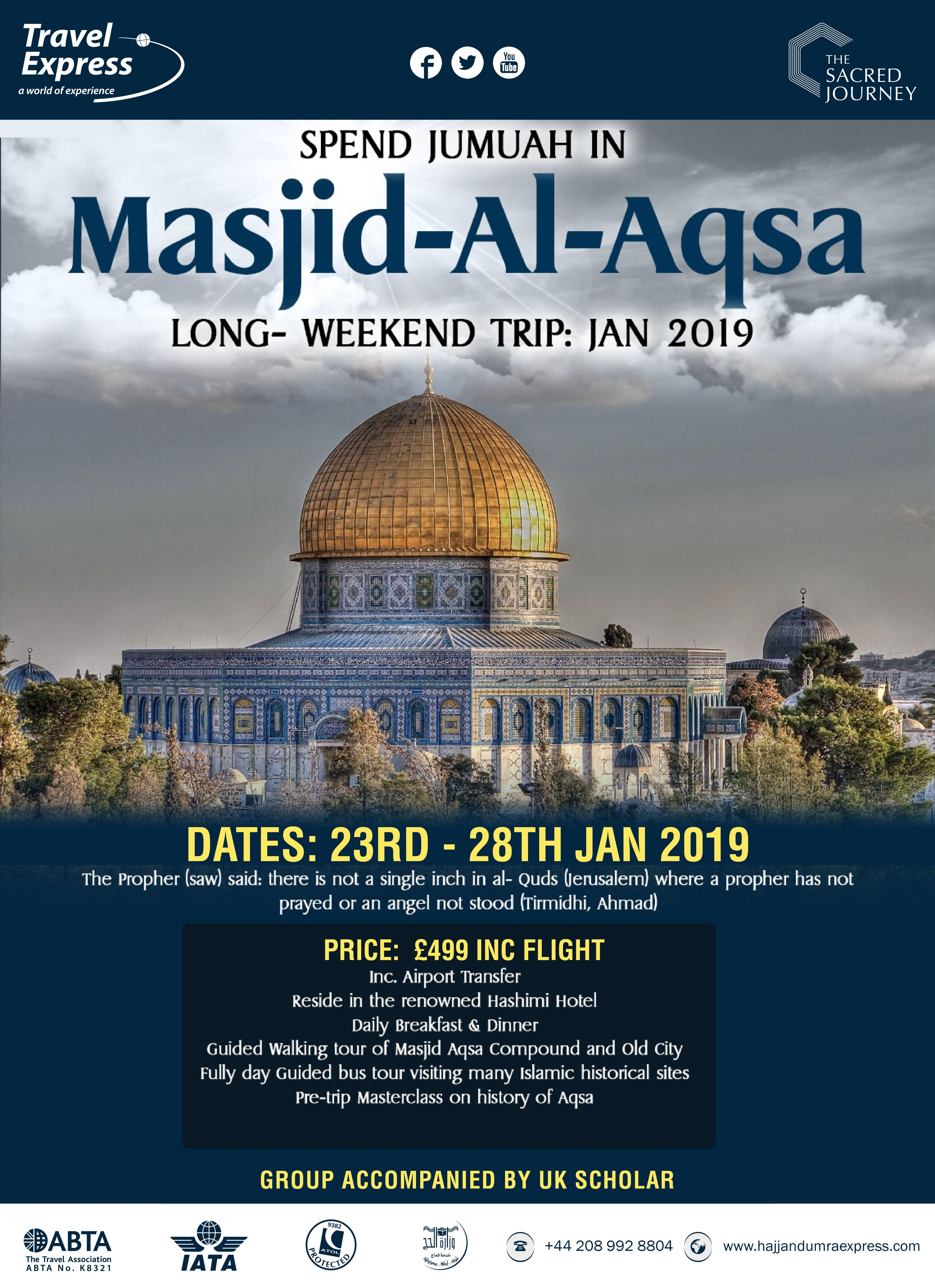 Masjid Al Aqsa Tour 2019