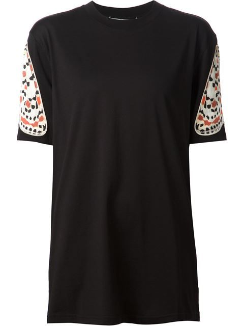 Shop Givenchy moth wing applique T-shirt in Tessabit from the world's best independent boutiques at farfetch.com. Over 1000 designers from 300 boutiques in one website.