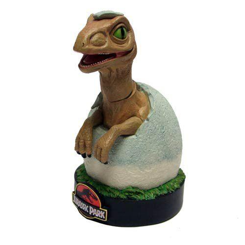 Jurassic Park Raptor Hatchling Bobble Head Knocker - Shakems Statue Jurassic Park http://www.amazon.com/dp/B00IQZ0D6M/ref=cm_sw_r_pi_dp_W.EFub11R4AB6