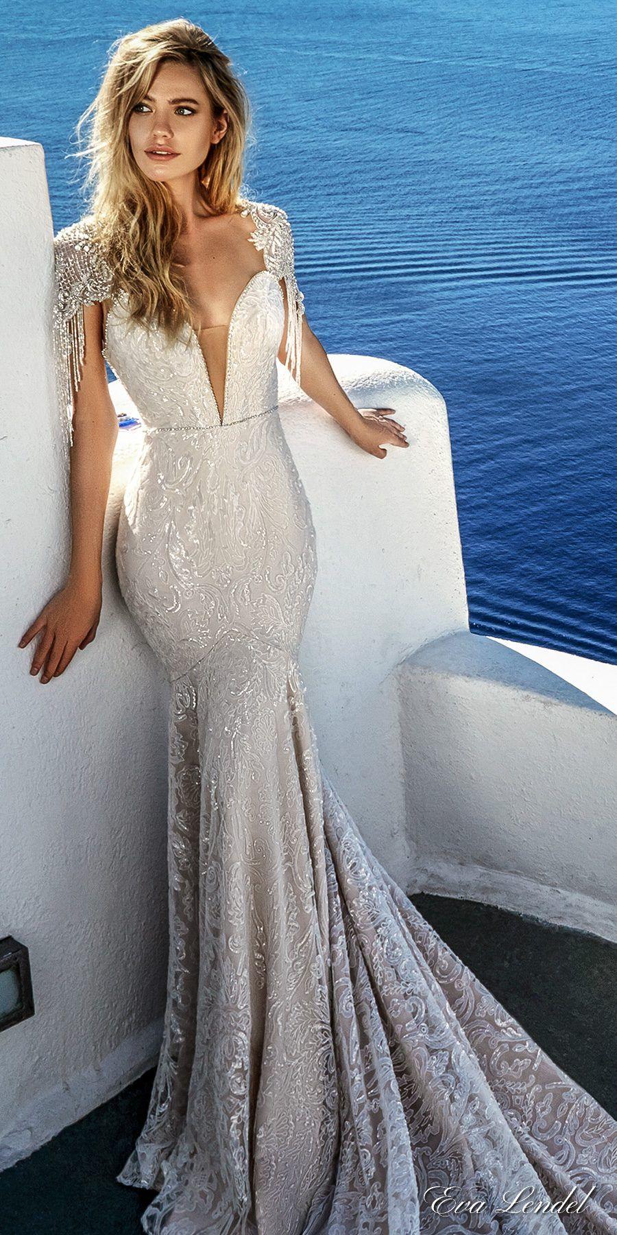 Eva Lendel Wedding Dress Collection 2017 | Vestiditos, Novios y Pijama
