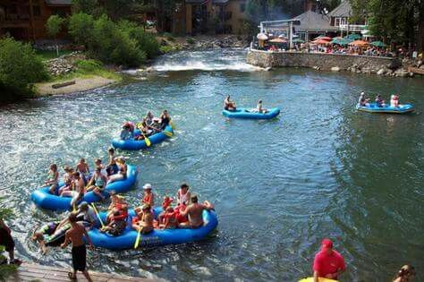Floating the Truckee....