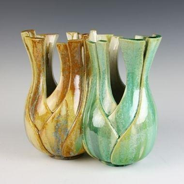 Kate Malone Siamese Fennel Contemporary Ceramics