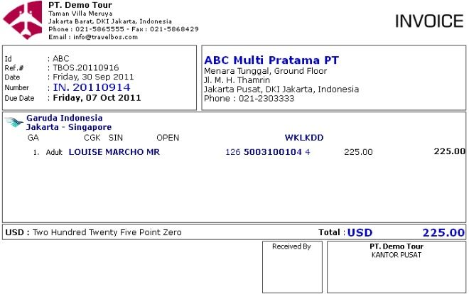 Contoh Invoice In 20110914 Skenario 2 Ideas For The House Pinterest