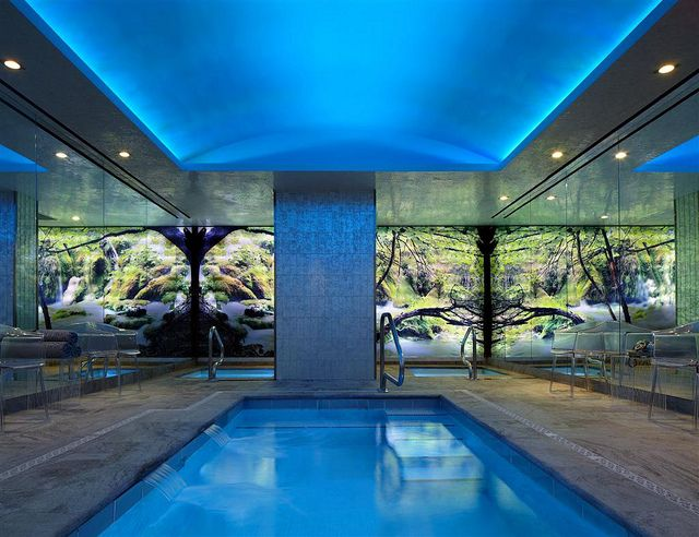 The Chatwal New York City Indoor Salt Water Lap Pool New York Hotels Luxury Collection Hotels Hotel Pool