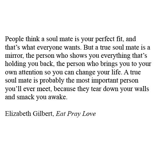 Eat Pray Love Quotes Eat Pray Love Quotes  Elizabeth Gilbert On Tumblr  Think About It